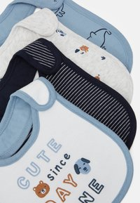Carter's - 4 PACK - Bib - blue - 5