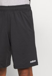 adidas Performance - 3 STRIPES AEROREADY TRAINING SHORTS - Short de sport - black/white - 4