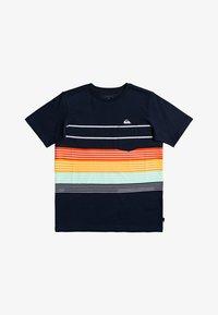 Quiksilver - MORE CORE  - Print T-shirt - navy blazer - 0