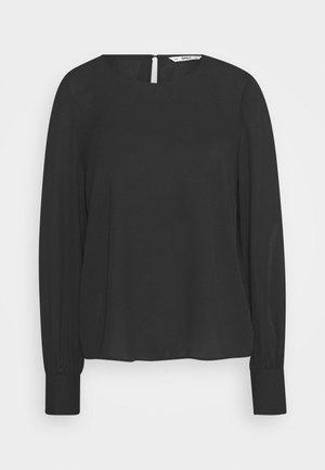 ONLNORA LIFE NECK - Blouse - black