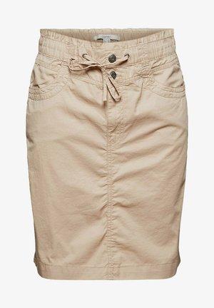 NEW PLAY - Mini skirt - beige