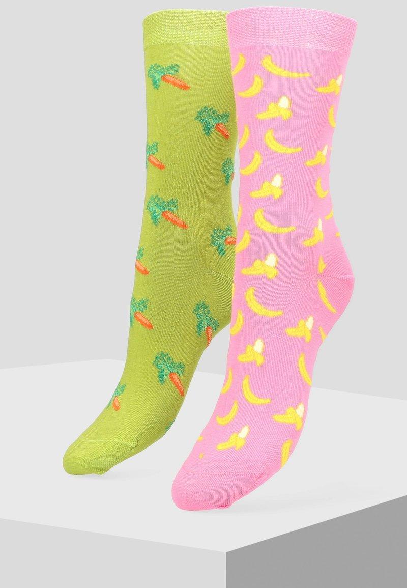 Libertad - 2 pack - Socks - pink