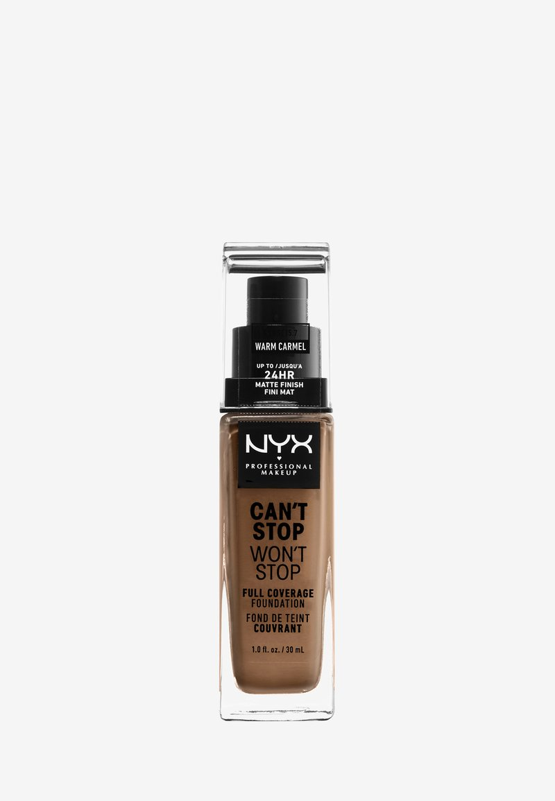 Nyx Professional Makeup - CAN'T STOP WON'T STOP FOUNDATION - Foundation - 15.7 warm carmel