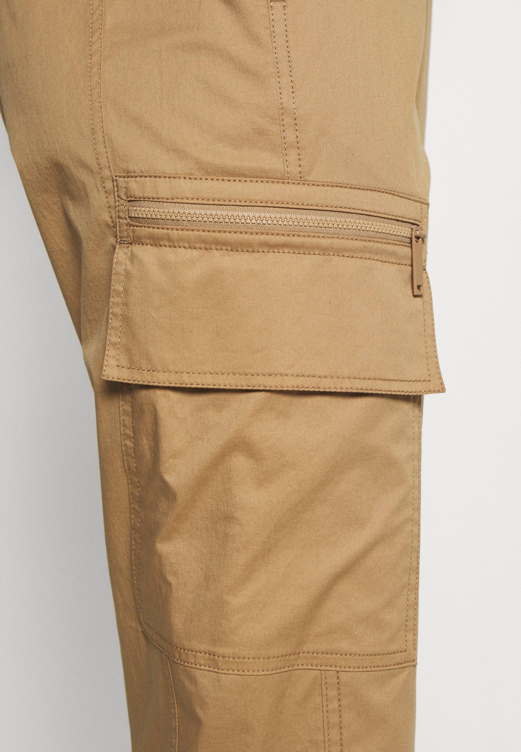Marc O'Polo PURE Pantalon cargo - beige - Pantalons & Leggings Femme YGTNv
