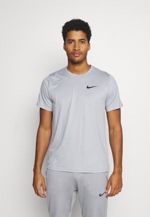 Basic T-shirt - particle grey/grey fog/heather/black