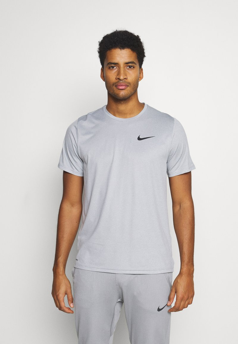 Nike Performance - DRY  - T-shirt basic - particle grey/grey fog/heather/black