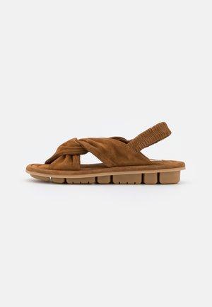 Sandals - evolo cognac