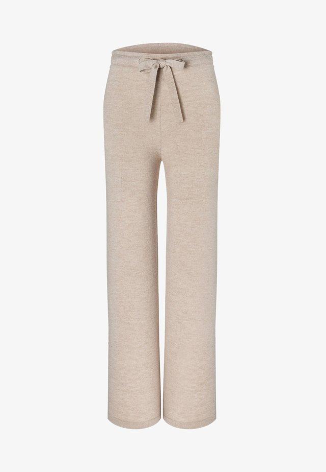 STRICKHOSE - Trousers - beige