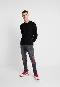 YOURTURN - Jeans Skinny Fit - black denim - 1