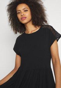 Vero Moda - VMNANCY KNEE DRESS - Day dress - black - 3
