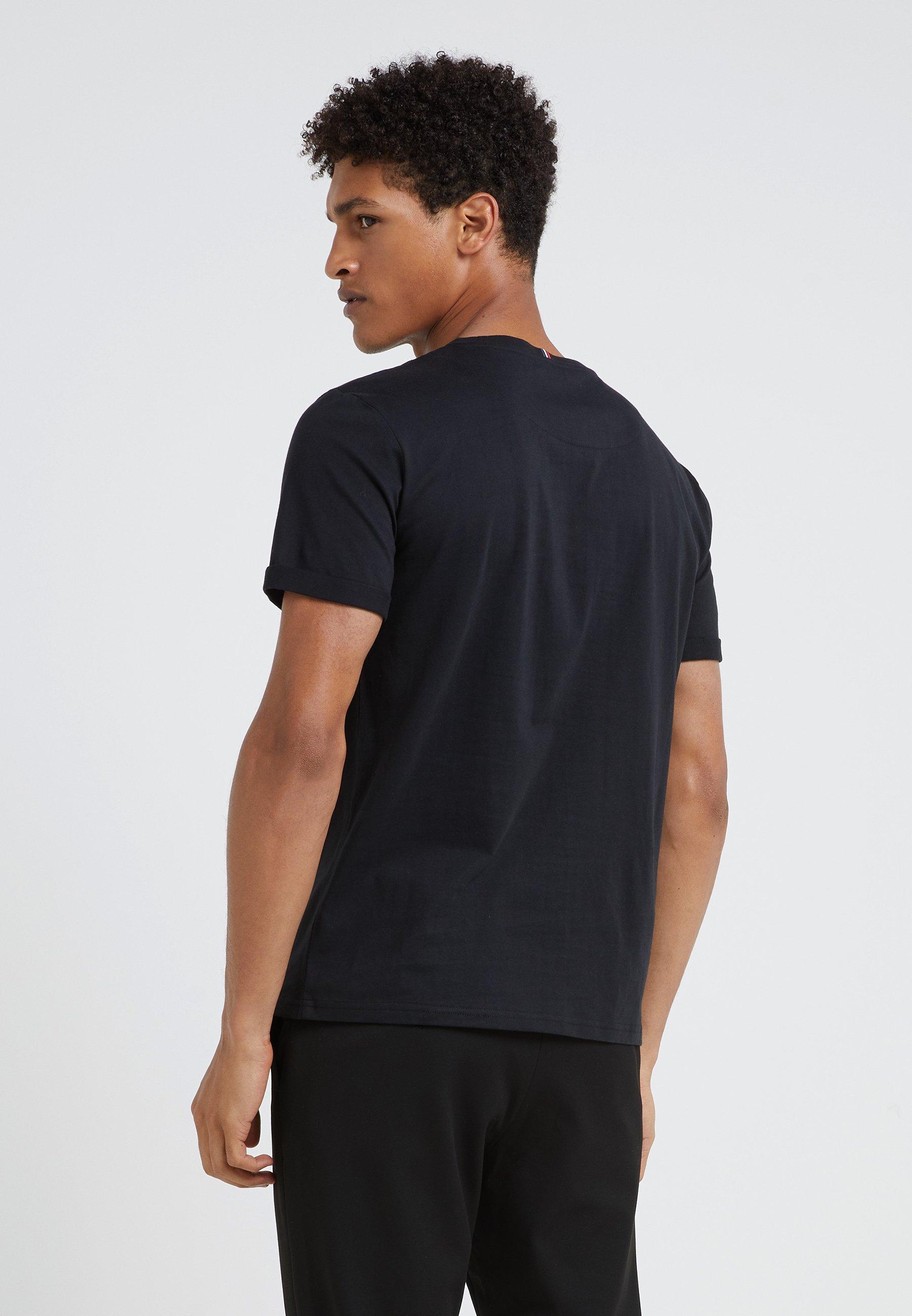 Les Deux Encore - T-shirts Med Print Black/svart