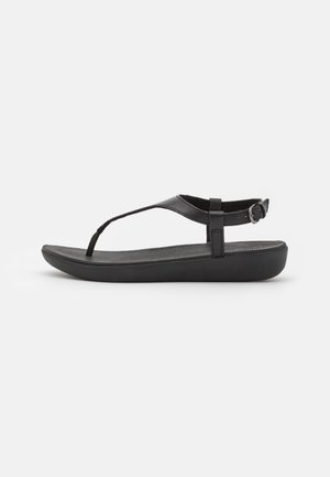 LAINEY TOE POST  - Sandály s odděleným palcem - all black
