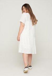 Zizzi - Day dress - bright white - 1