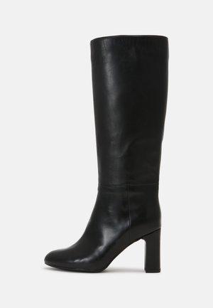 USTED - Stivali con i tacchi - black