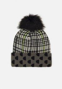 Desigual - HAT MONOGRAM REVERSIBLE - Hat - black - 0