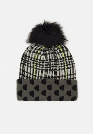 HAT MONOGRAM REVERSIBLE - Hatt - black