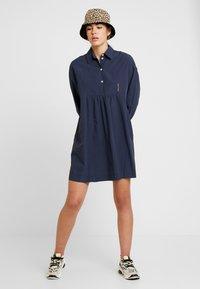 Wood Wood - JANICA DRESS - Day dress - navy - 1