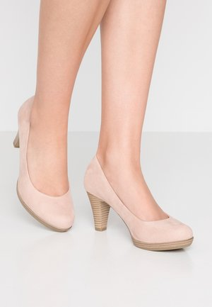 Scarpe con plateau - rose