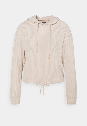 STINA HOODIE - Pyjama top - beige