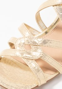 Head over Heels by Dune - JAIDAN - Sandals - gold metallic - 2