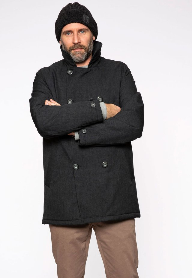 Short coat - anthramelange