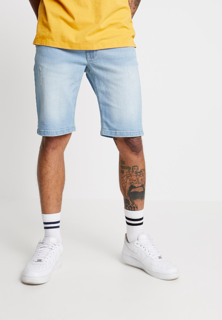 Redefined Rebel - COPENHAGEN - Denim shorts - bleach