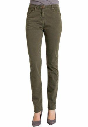 Jeans slim fit - verde scuro