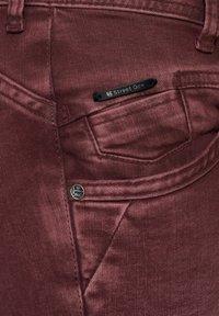 Street One - Straight leg jeans - rot - 5