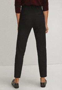 Massimo Dutti - Spodnie materiałowe - black - 2