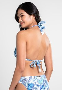 Lauren Ralph Lauren - MOLDED CUP SLIDER - Bikini top - blue - 2