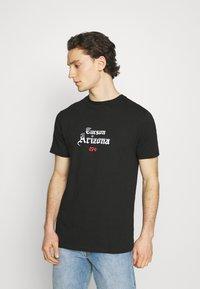 274 - CACTUS FLAME TEE - Print T-shirt - black - 0