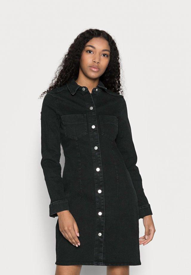 VMGRACE  - Denimové šaty - black denim