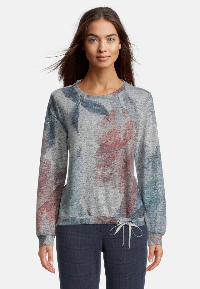 Sweatshirt - silver-mint
