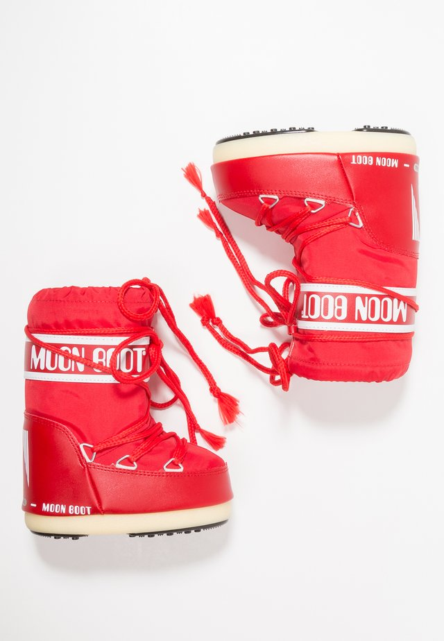 Winter boots - red