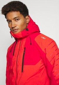 CMP - MAN JACKET FIX HOOD - Ski jacket - tango - 3