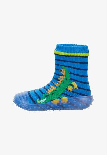 ADVENTURE KROKODIL - Slippers - blau