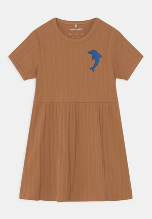 DOLPHIN  - Jersey dress - brown