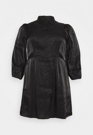 PCRAVENNA DRESS - Abito a camicia - black