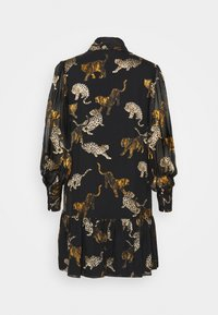 The Kooples - ROBE - Shirt dress - brown