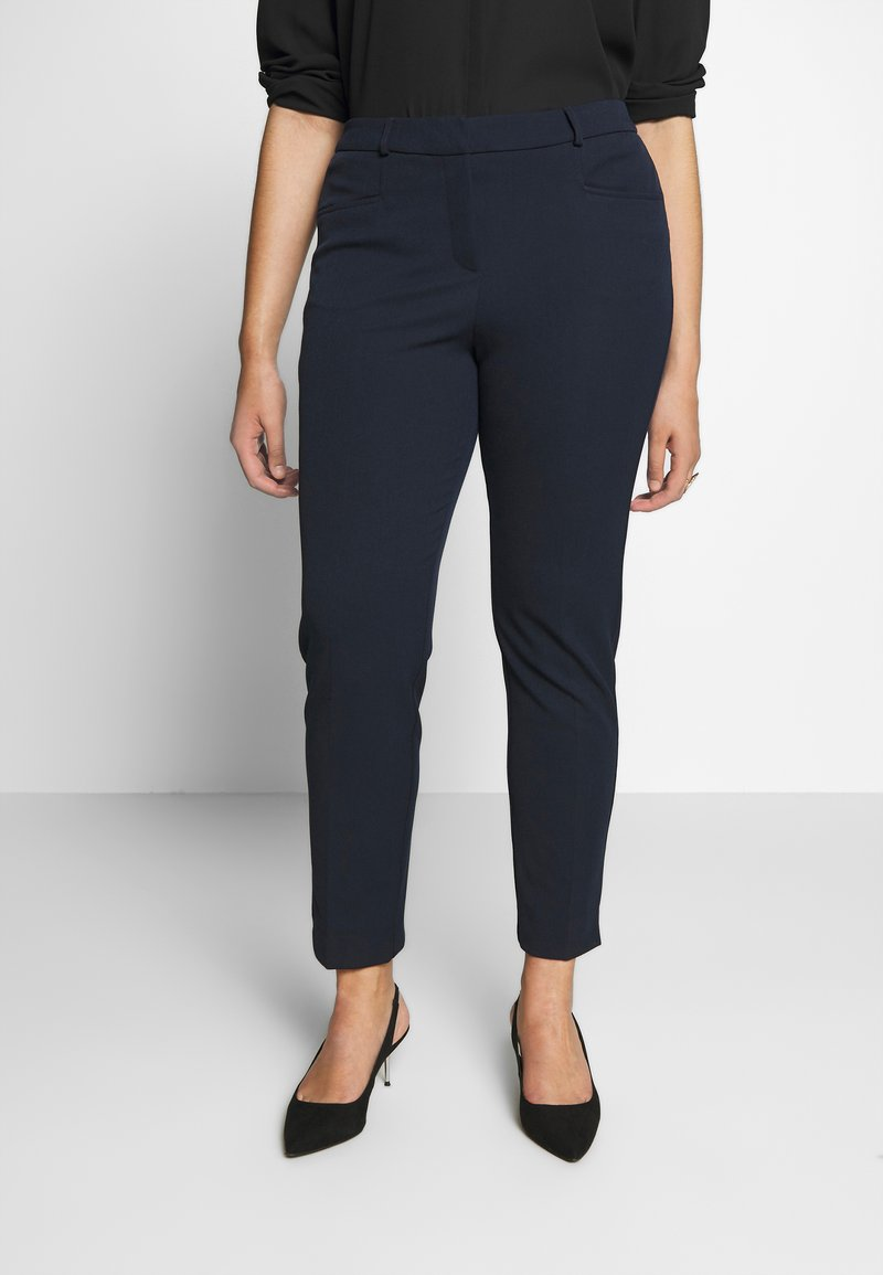 CAPSULE by Simply Be - EVERYDAY KATE TROUSER - Trousers - navy
