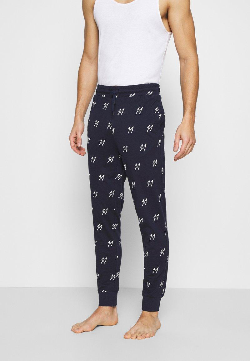 Jack & Jones - JACJASON PANTS - Pyžamový spodní díl - maritime blue