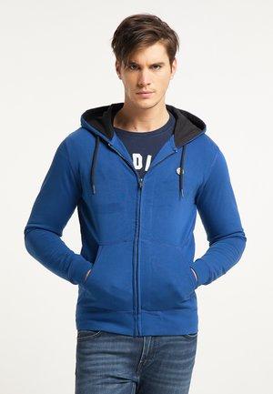 Felpa con zip - imperial blue