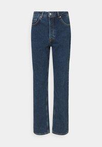 SLFKATE HARBOUR - Straight leg jeans - medium blue denim