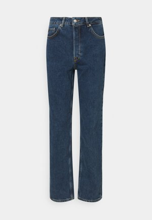 SLFKATE HARBOUR - Straight leg jeans - medium blue denim