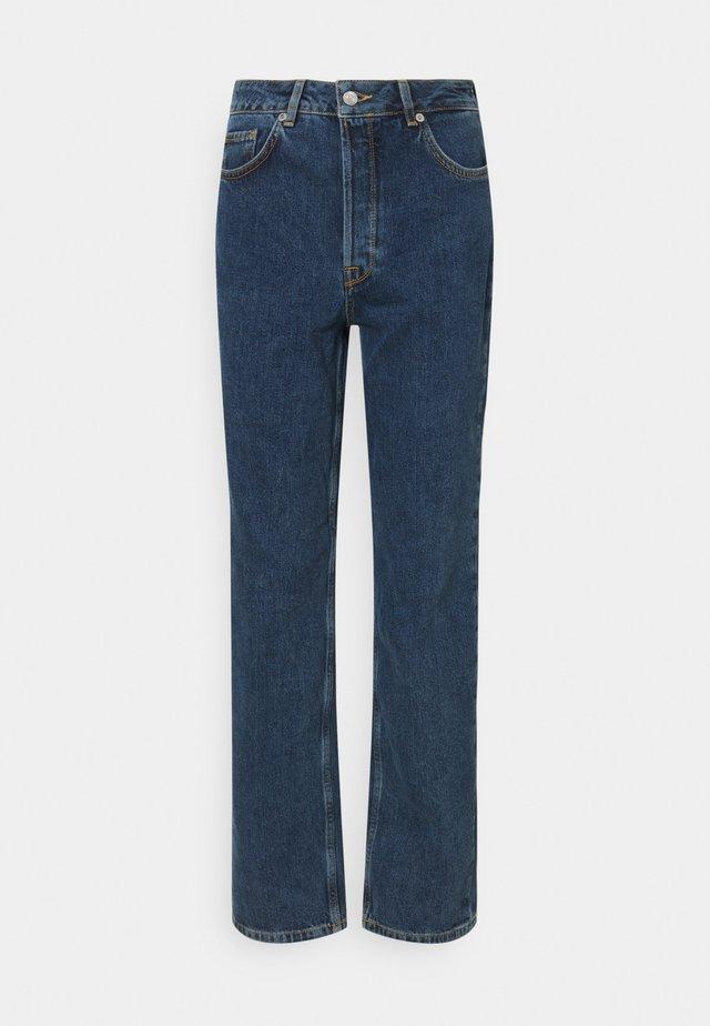 SLFKATE HARBOUR - Džíny Straight Fit - medium blue denim