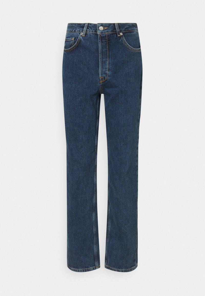 Selected Femme - SLFKATE HARBOUR - Straight leg -farkut - medium blue denim