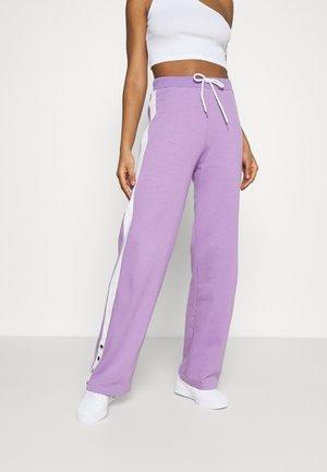 Teplákové kalhoty - lila