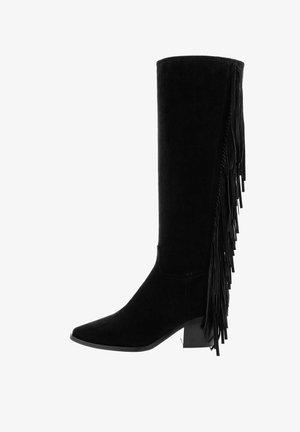 ZIMELLO - Kovbojské/motorkářské boty - black