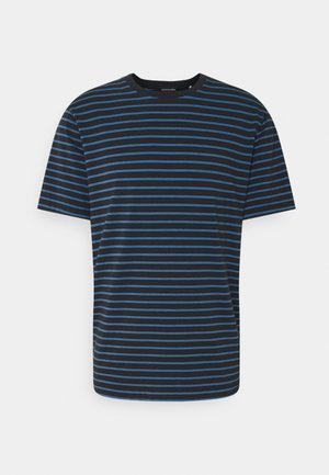 CLASSIC CREWNECK - T-shirt imprimé - dark blue/blue