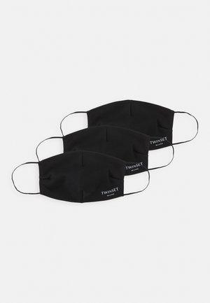 FACE MASK 3 PACK - Látková maska - black